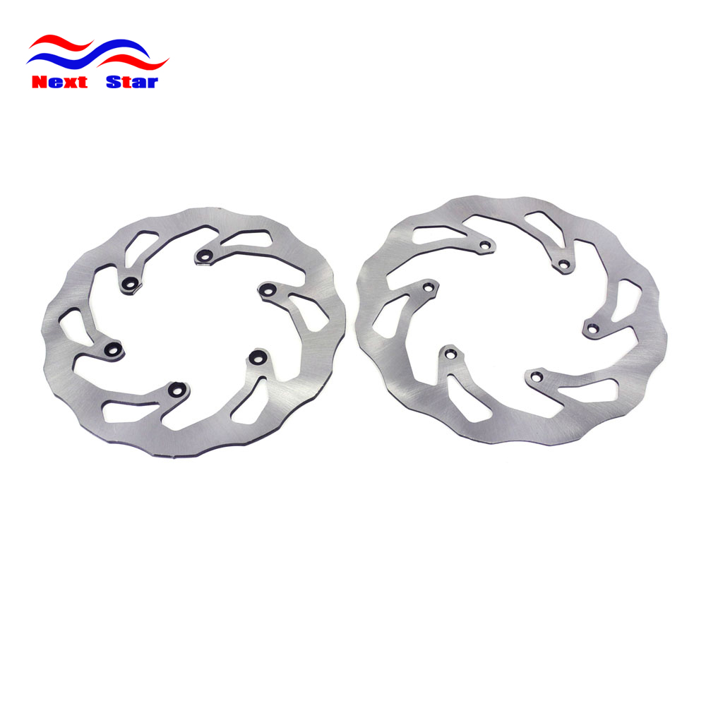 Front And Rear Brake Rotor Disc Assembly For YAMAHA YZ250 YZ250F YZ250X YZ426F YZ450F WR125 WR250F WR450F Motorcycle motorcycle x brake front brake disc cover for yamaha yz250f yz450f 2007 2013 blue