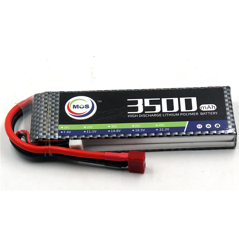MOS 2S RC Toy LiPo battery 7.4V 3500mAh 25C Li-Po Batteries For RC Airplane Helicopter Car Boat Quadcopter Li-Polymer batteria mos 5s rc lipo battery 18 5v 25c 16000mah for rc aircraft car drones boat helicopter quadcopter airplane 5s li polymer batteria