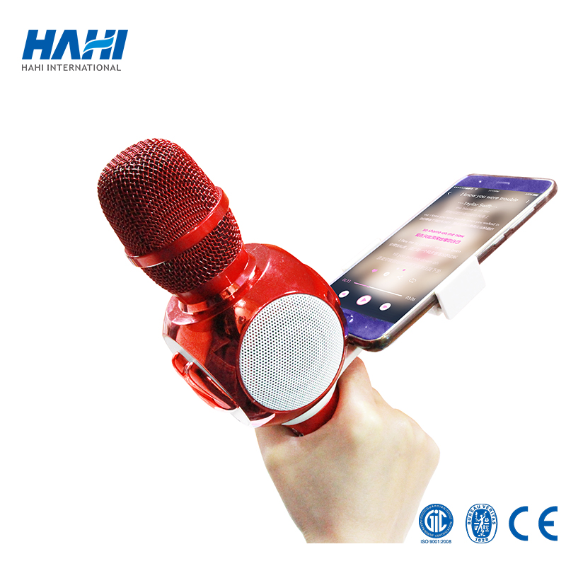 2018 hot sale handheld professional wireless microphone mini wireless karaoke microphone for. Black Bedroom Furniture Sets. Home Design Ideas