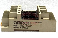Free shipping Original authentic Omron (Japan) OMRON relay base P6BF-4BND 24VDC