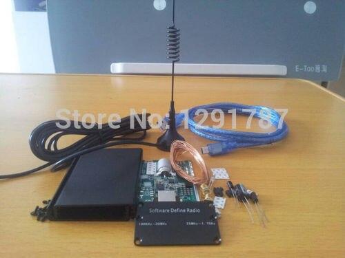 DIY KIT 100KHz to 1.7GHz  UV HF RTL SDR USB Tuner Receiver R820T 8232 CW FM