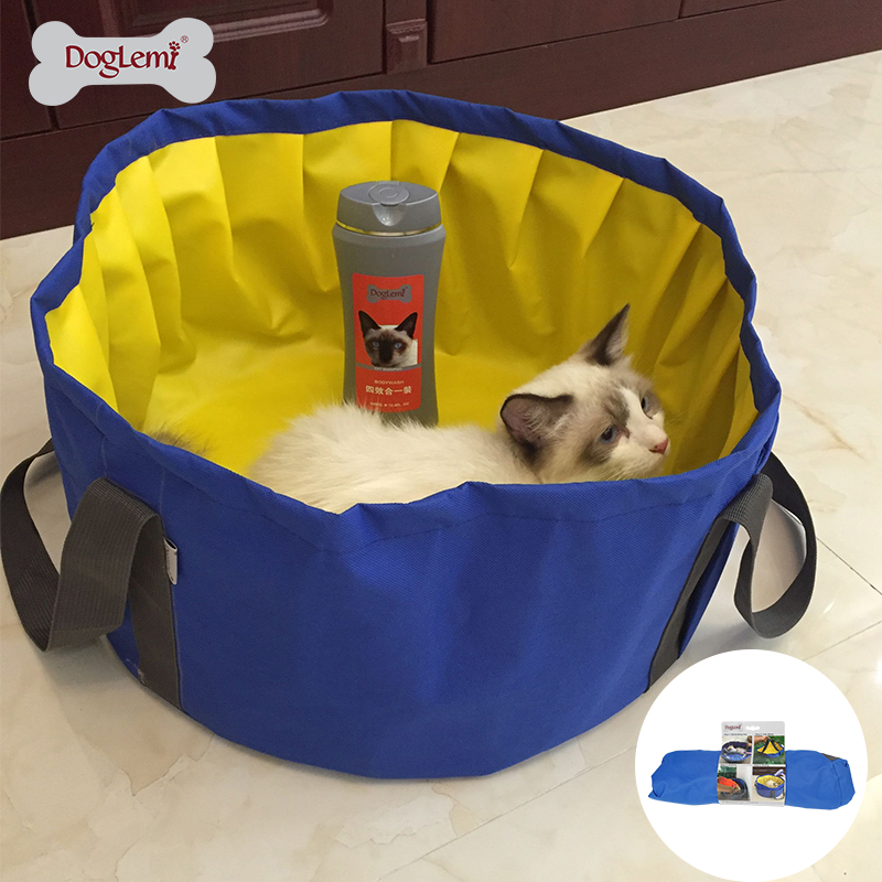 Doglemi Faltbare Katze Pool Bade Badewanne Für Kleine Hunde Und
