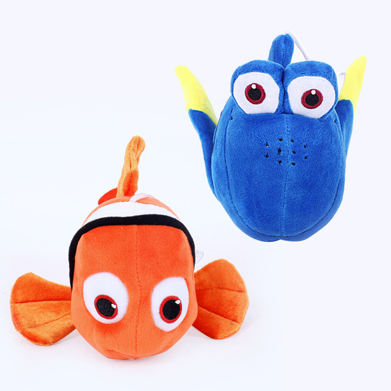 25cm Finding Nemo Dory Plush Toys Doll Nemo & Dory Clown Fish Plush Soft Stuffed Animals Toys For Kids Children Christmas Gifts