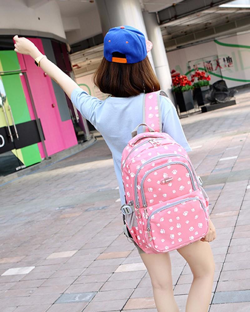 Fashion kids book bag breathable backpacks children school bags women leisure travel shoulder backpack mochila escolar infantil 5