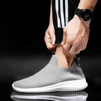 Taille Plus Vêtements De Sport | Grande Taille 46 Chaussures De Tennis 2019 Hommes Sans Lacet Gym Chaussures De Sport Pour Hommes Ultra Boost Stabilité Marque Baskets Hommes Baskets Athlétiques