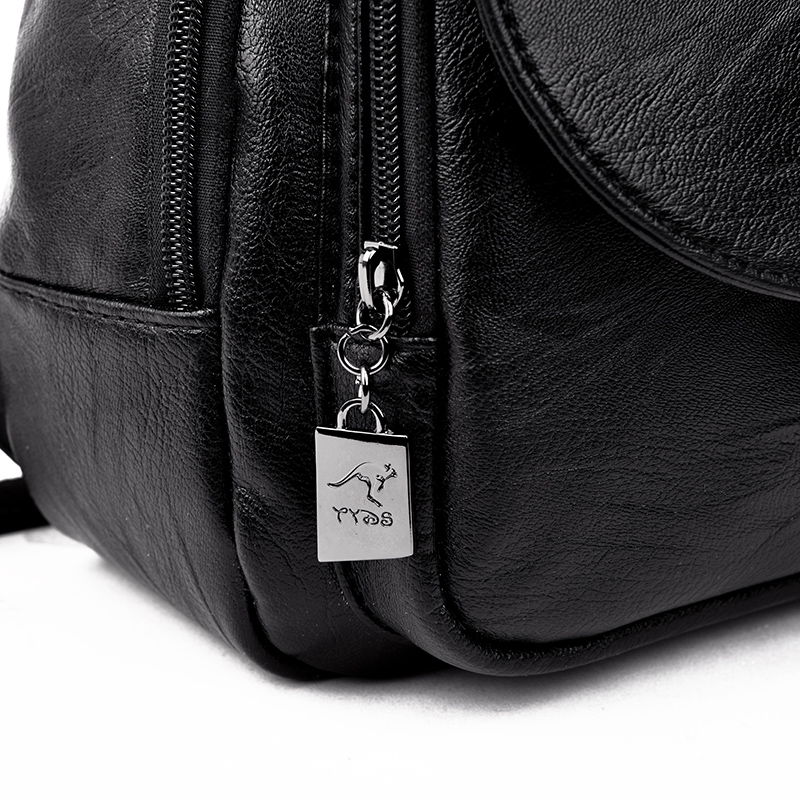 HTB14aWORCzqK1RjSZFjq6zlCFXaM Women Backpack Multi-Function Female Backpack Casual School Bag For Teenager Girls High Quality Leather Shoulder Bag For Lady