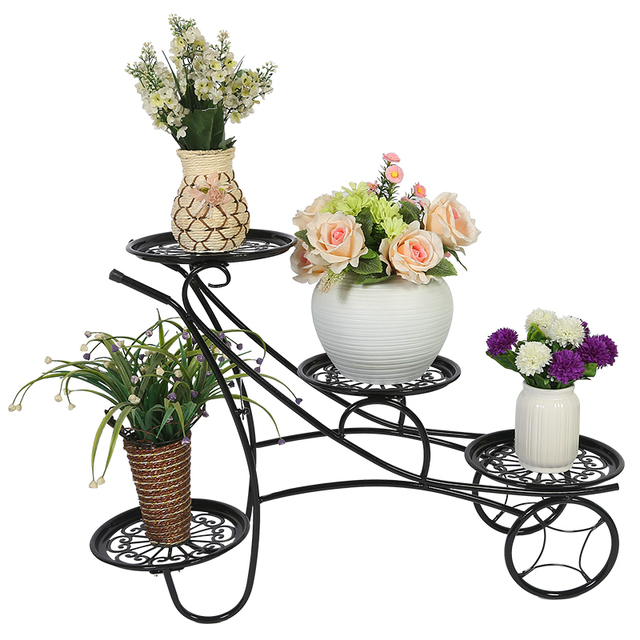 The Metal Flower Stands For Living Room Balcony Iron Holder Stand