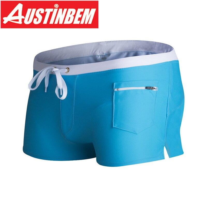 AUSTINBEM férfi fürdőruha szexi fürdőruha Sunga férfi meleg - Sportruházat és sportolási kiegészítők - Fénykép 3