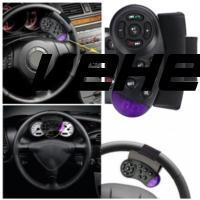 ABS 8.5 * 5.5 * 2cm Vehical Steering Wheel Remote-Control Smart Automobile Remote Control Portable Car CD Remote-Control Unit