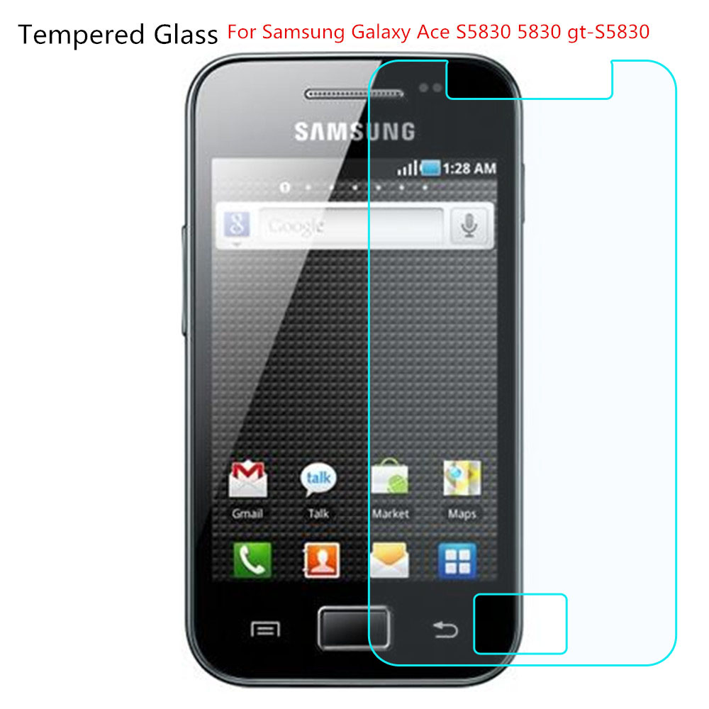 2.5D 0.26mm 9H Premium Tempered Glass For Samsung Galaxy Ace S5830 5830 Gt-S5830 Screen Protector Toughened Protective Film