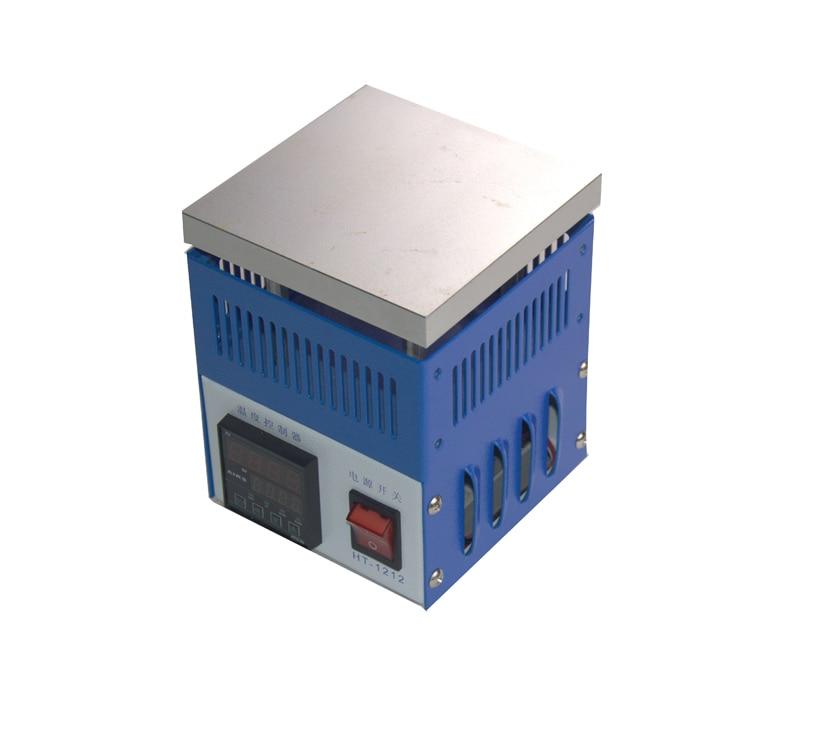Prese di fabbrica HT-1212 stazione di saldatura stazione di riscaldamento forno di saldatura palla sbattimento urto forno di saldatura a LED 110v