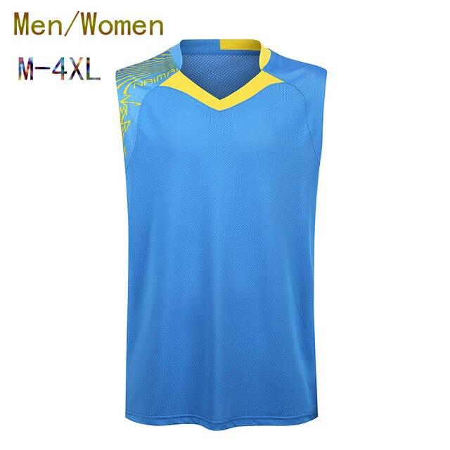 80c45ae591f634 Online Shop Badminton sleeveless Jersey Women Men