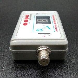 Image 3 - ТВ антенна цифровой спутниковый измеритель сигнала ЖК экран дисплей FTA DIRECTV указатель сигнала ТВ инструмент для поиска сигнала