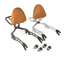 Motorcycle Sissy Bar Passenger Backrest + Mouting Spools For Indian Scout 2015-2020 Sixty 2016-2020 ABS chrome steel driver backrest support for indian scout sixty 2016 2017 2018 scout sixty motorcycle