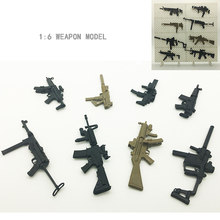 Реалистичная 4D Сборная модель оружия, карбиновый пистолет, масштаб 1:6, модель, строительные наборы, игрушки для мальчика