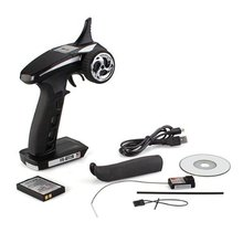 New Flysky FS-GT2B 2.4G 3CH System Transmitter + Receiver for RC Car Boat