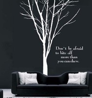 Huge Tree Branch Removable wall sticker wall Decal vinyl wall art mural home decoration