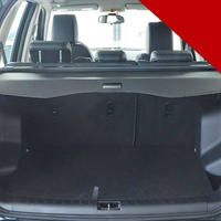 Black Accessories Rear Trunk Retractable Cargo Luggage Cover 1set fit for Land Rover LR2 Freelander 2 2008 2014