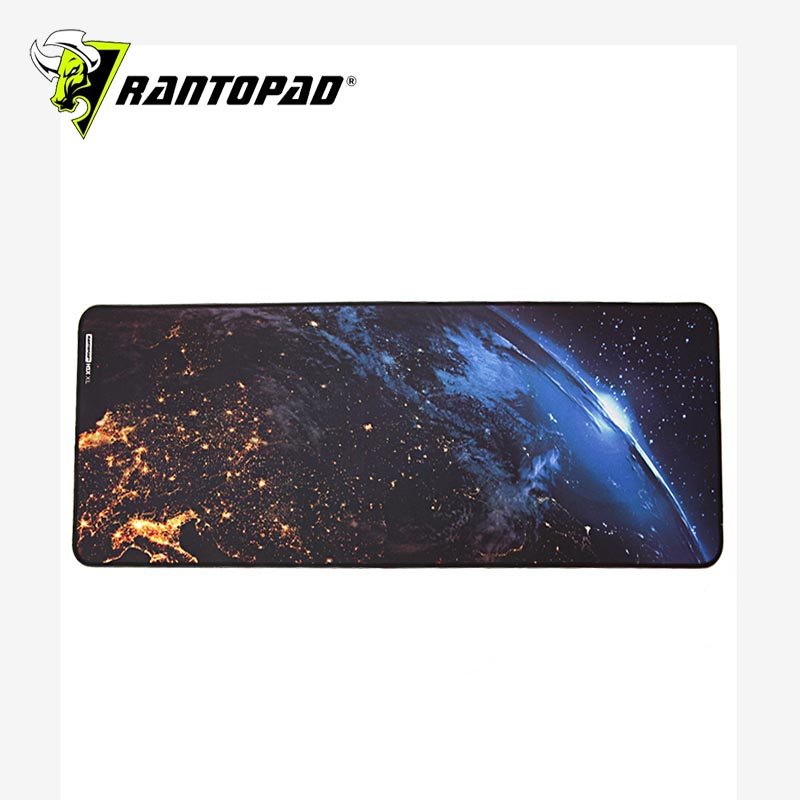 Rantapad Night Sky XL 900*300*4MM Fabric Gaming Pad NEBULA EDITION Large Table Pad PC Notebook Gaming Mouse Pad Gift for Players