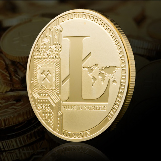 New Types BTC Dash Litecoin Ethereum Coins Currency Collection Physical Gift Collection Art Antique Home Holiday Deco Imitation  3