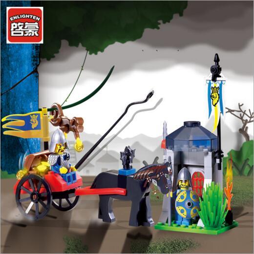 Забавная детская игрушка совместима legoes замок модель детского интеллекта образования игрушки строительный блок Checkpoint
