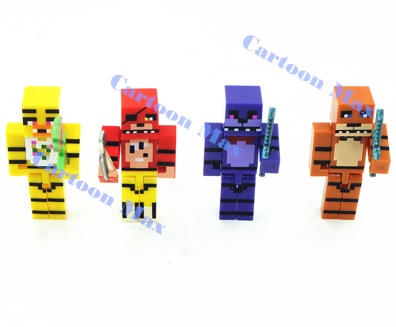 Minecraft Toy Freddy : Sets minecraft toys five nights at freddy s