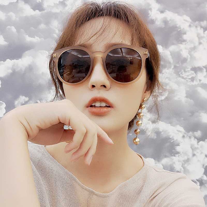 Original Blue Mirror Sunglasses Women Cat Eye Sun Glasses Female Brand Designer Trendy 2018 Retro Vintage Gold Glasses Girl Eyewear Uv400 Women's Sunglasses Apparel Accessories
