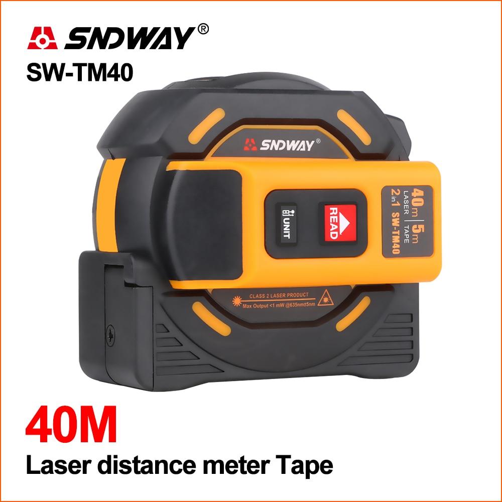 SNDWAY Laser Distance Meter Rangefinder Range Finder Hunting 40M 60M Laser Tape Measure Digital Retractable 5M Distance MeterSNDWAY Laser Distance Meter Rangefinder Range Finder Hunting 40M 60M Laser Tape Measure Digital Retractable 5M Distance Meter
