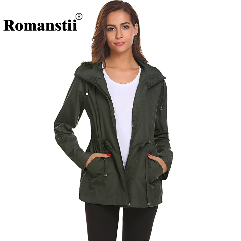 quality first quality marketable Romanstii Bomber Jacket Women Spring Autumn Waterproof With ...