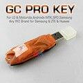 Original novo gcprokey GC pro chave de gpg o trabalho em equipe em primeiro lugar MTK telefone gcprokey pós rápido grátis