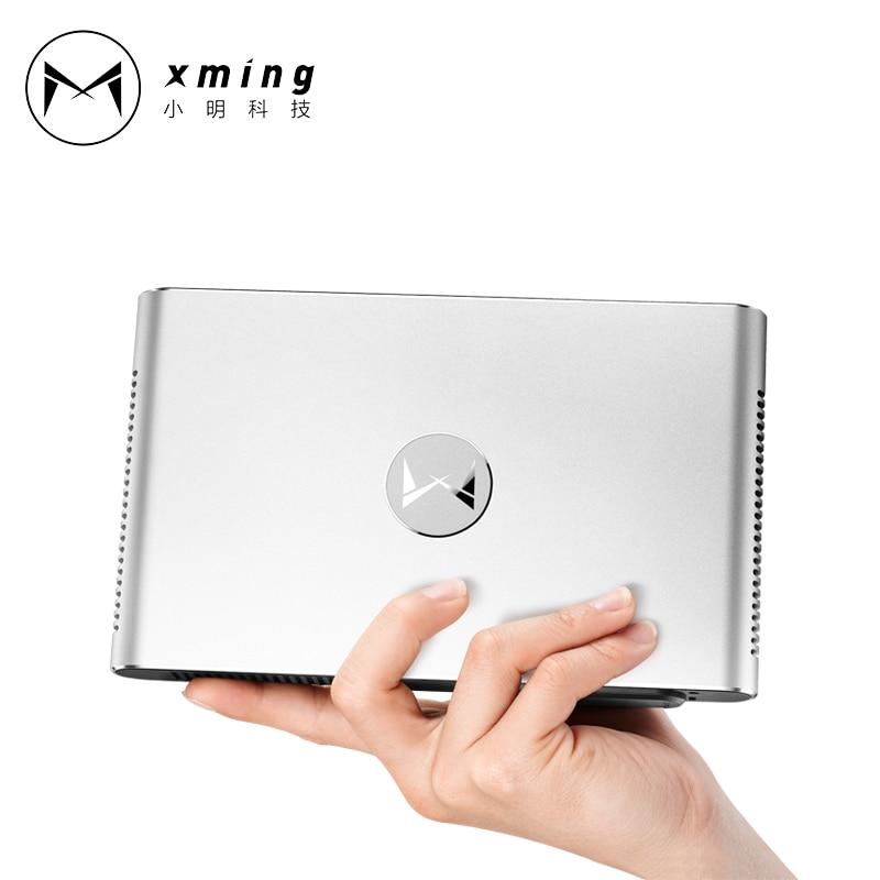 XMING M2 Портативный лазерный проектор 3D Full HD 1080 P 4 К Android 4,4 1280*800 Blueto ...