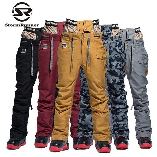 e9135cd218c6 StormRunner 2018 winter snow pants new style Men s snow pants sport ...