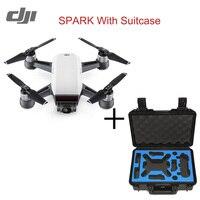 В наличии оригинальный DJI Spark Drone 2 км FPV системы Квадрокоптер Радиоуправляемый Дрон с 12MP 2 оси механические Gimbal Камера quickshot режим жест