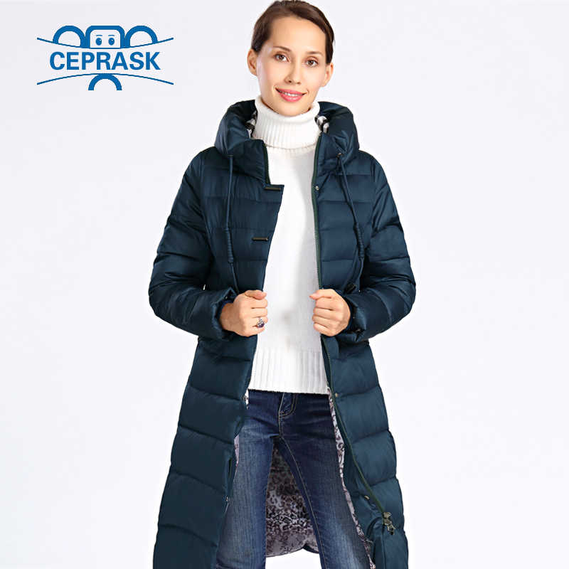 76ca462d088 ... 2018 New Winter Jacket Women Plus Size Long Thick Womens Winter Coat  Hooded High Quality Warm ...