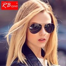 RBROVO 2018 Pilot Sunglasses Women/Men Top Brand Designer Lu