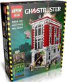 Nueva LEPIN Ghostbustersed serie LA Sede del parque de Bomberos Modelo bloques de Construcción Niño Juguetes Clásicos compatibles con 75827