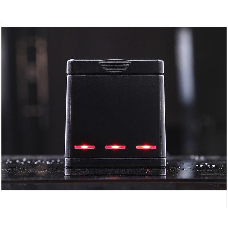 1pcs 3-way Battery Charger Charging Storage box + 2pcs 1220MAH AHDBT-501 Batteries For GoPro Hero 5 7 Black Hero 6 Camera (13)