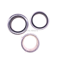 Free shipping 2sets/lot GHH Rand CF90D4 airend overhual repair kit 2pcs PTFE oil seal shaft seal +1pc shaft sleeve bushing