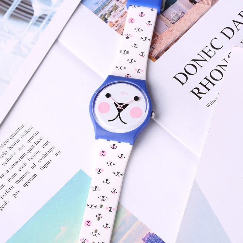 Swatch Watch Cute Cartoon Quartz Watch GN241 swatch watch quartz men s watch pnz100
