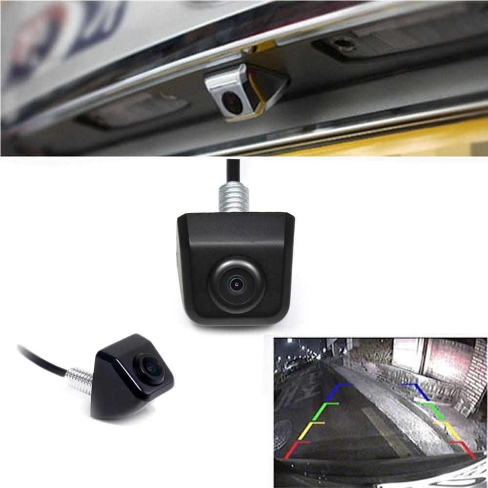 Carlinke Free shipping Mini HD Night Vision Car Rearview font b Camera b font Car detector