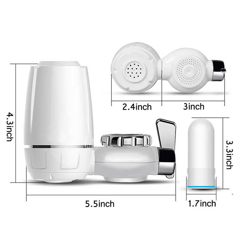 7 ступенчатый Расширенный фильтр для воды для смесителя, здоровый керамический картридж с активированным углем, очиститель воды, бытовой очиститель воды