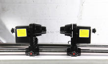 Strong power paper take up system with double motors for epson roland mutoh mimaki printer