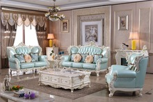 Sofas For Living Room Hot Sale Cheap Price Furniture Good Quality 321 Leather Sofa Luxury French Style Solid Italian Genuine