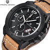 PAGANI DESIGN Men Watch Quartz Wristwatch Waterproof Shockproof Luxury Brand Male Clock Leather Relogio Masculino Hodinky