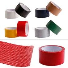 5cm*10M Duct Self Adhesive Bookbinding Repair Cloth Tape Waterproof Pipes 8 Colors