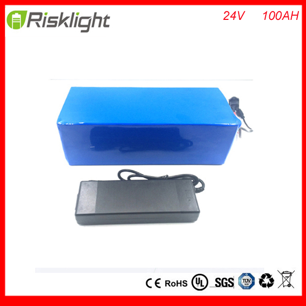 Free duty Hot sales e-bike battery 24V 100ah lithium battery pack for electric bicycle,EV,UPS with 5A fast charger and bms free customs taxes customized power battery 51 8v 52v 50ah lithium battery pack for scooter motocycle e bike ups ev led lights