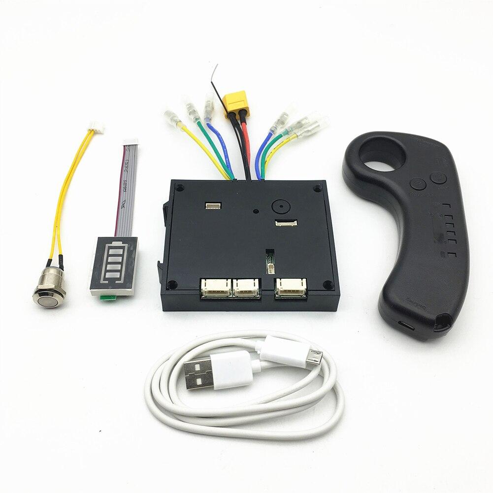 Contrôleur de planche à roulettes sans brosse accessoires de Scooter électrique dispositif à distance basse vitesse double moteurs pièces Instrument outils sans fil