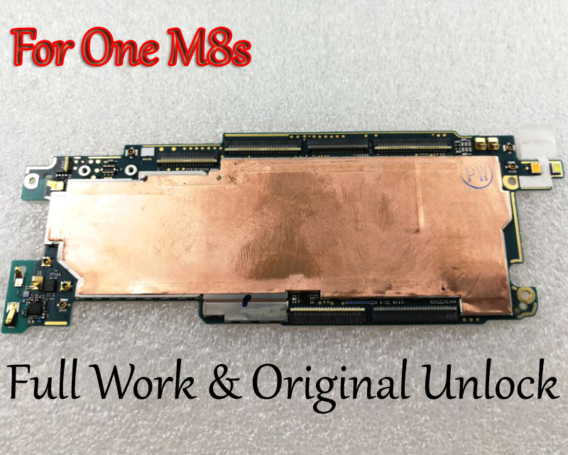 Full Work Unlock Mobile Electronic Panel Motherboard Circuits Flex Cable For Htc One M8 M8s M8v