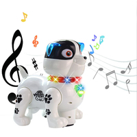Rolimate Electronic Pet Dog Interactive Puppy Robot Harry Responds to Touch, Walking, Chasing and Fun Activities.