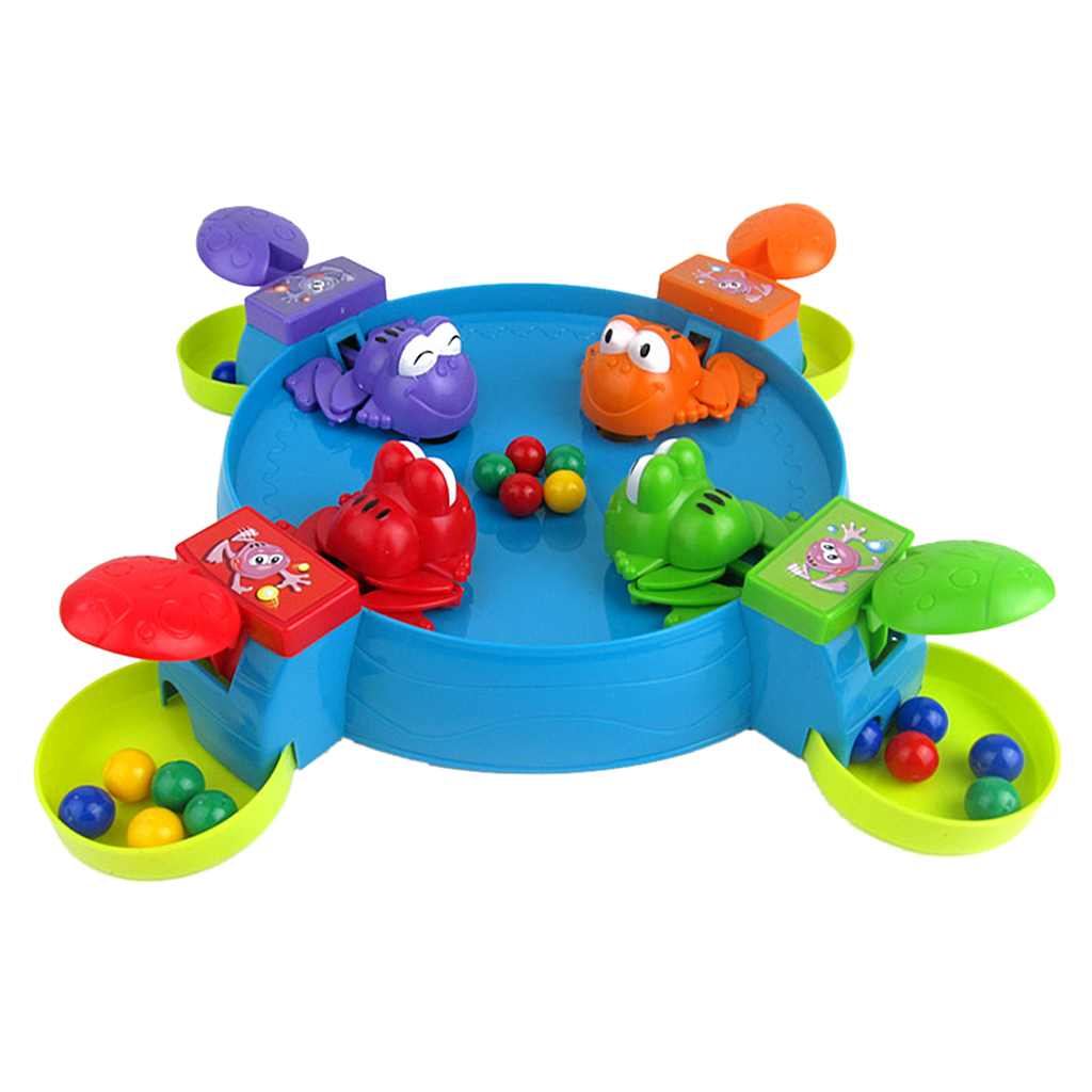 High Quality Feeding Froggies Frogs Board Game Family Game Kids Childrens Toy Set for Pub Club Funny Camping Game Birthday Gift
